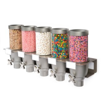 Rosseto EZ-SERV® Short Wall Mounted Dispenser 5 Containers