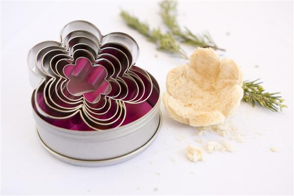 Flower Shaped Cookie Cutters