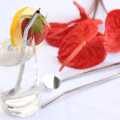 Straw Spoon Stainless Steel