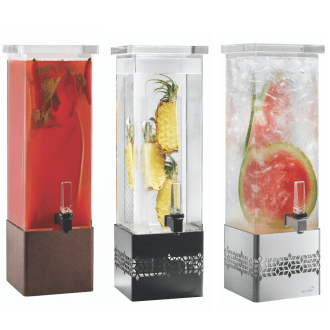 square Beverage Dispenser without base