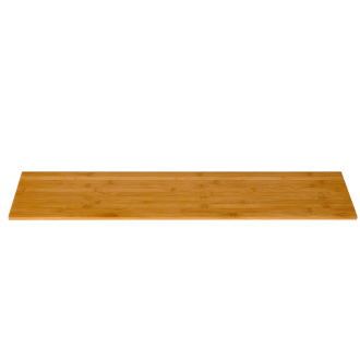 Narrow Rectangle Natural bamboo surface
