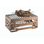 Food Warmer With Grill-Top