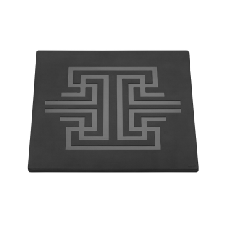 Square Patterned Melamine for buffet equipment – Black