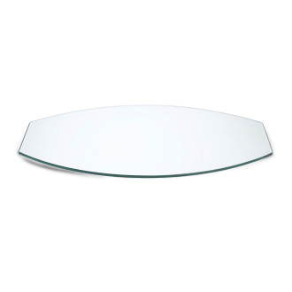 Wide Oval surface for buffet station white