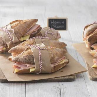 Food Grade Kraft Paper Parisian Stripe (S/L)