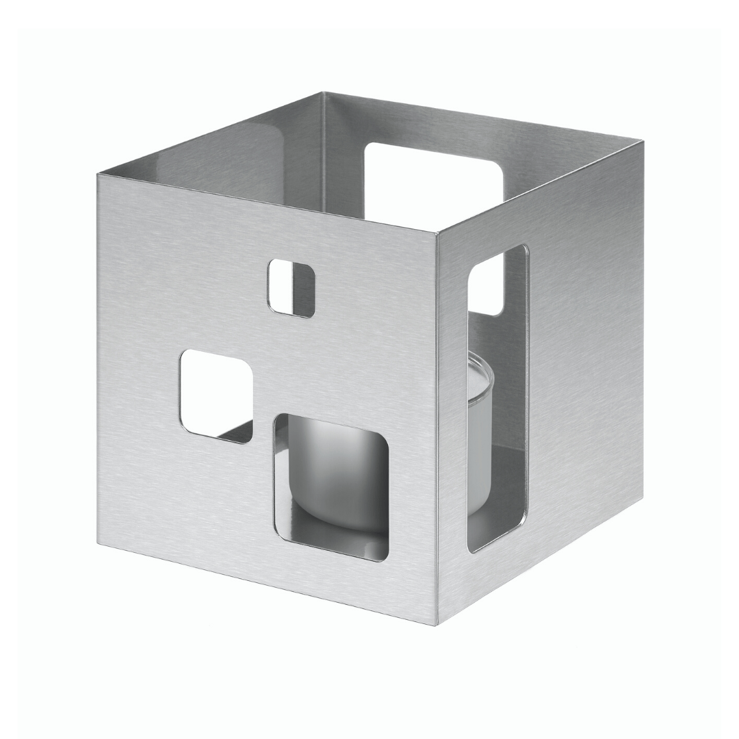 Square Riser Warmer Stainless Steel