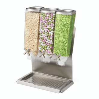 Rosseto Triple Stainless Steel Dispenser EZ-PRO™