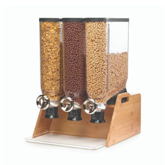 Rosseto EZ-SERV® Bamboo TableTop Triple Dispenser System