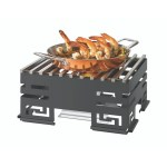 Mini-Chef Stainless Steel Warmer Kit Track Grill, Burner Stand
