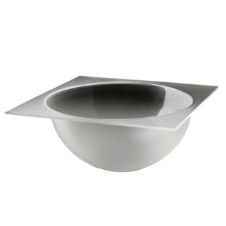 Large Bowl Tray Frosted