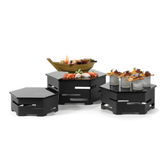 Honeycomb Buffet Display System