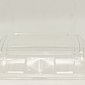 Clear Lid for Medium Sugarcane Platter