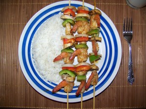 Shrimp Kabob