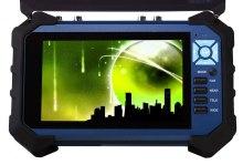 7'' hybrid AHD TVI CVBS CCTV Tester Monitor with recorder