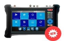 7'' all-in-one IP tester monitor with AHD TVI CVI