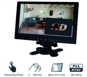 10.1'' wall-mounted and car monitor