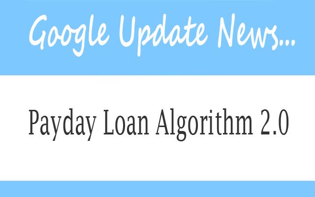 Payday Loan Algorithm 2.0