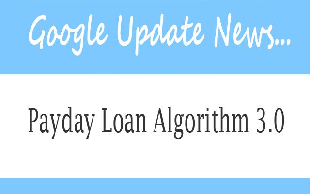 Payday Loan Algorithm 3.0