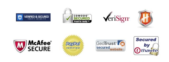 secure website logos