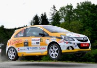 Christoph Leitgeb/Sabrina Hartenberger-Opel Corsa OPC © IG Rallye Fotoservice