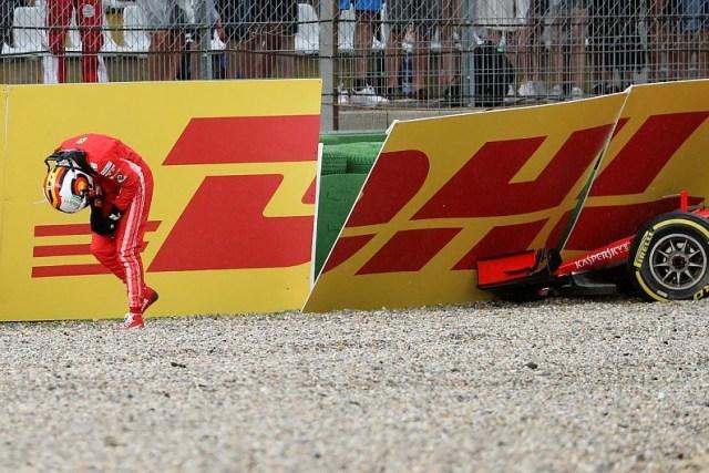 Vettel disperato pagelle zero