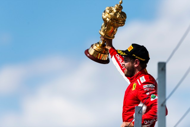 Vettel Silverstone
