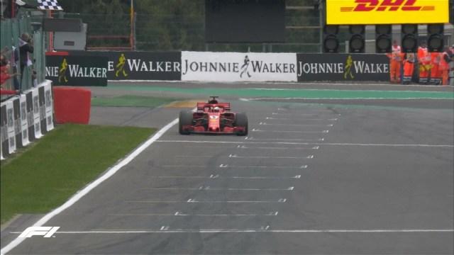 Vettel Belgio