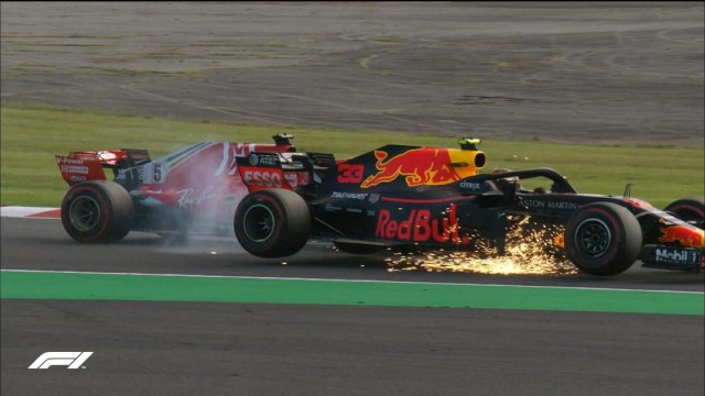 Verstappen Vettel Suzuka