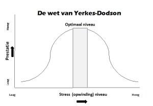 De wet van Yerkes-Dodson Topsport Brein