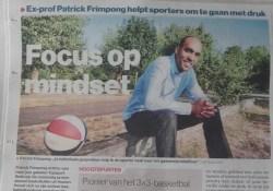 Algemeen Dagblad (AD) krant Patrick Frimpong