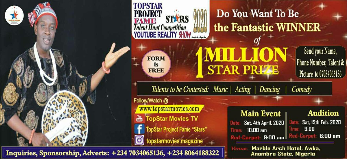 Contest for TopStar Project Fame Stars 2020
