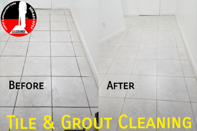 Commercial Tile and Grout Cleaning in Miami