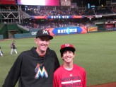 Me and Joe after the game