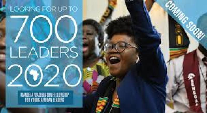 Mandela Washington Fellowship for Young AfricanLeaders 2020