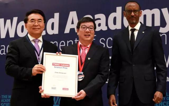 TWAS-LENOVO SCIENCE AWARD FOR SCIENTISTS IN DEVELOPING COUNTRIES