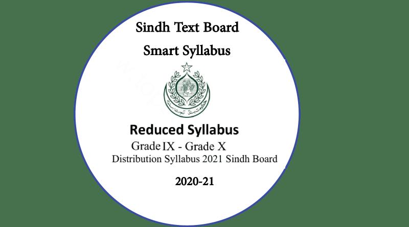 Sindh Board Syllabus