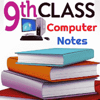 9th Class Computer Science Notes download