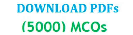 5000 MCQs Book for PPSC and NTS Tests Download