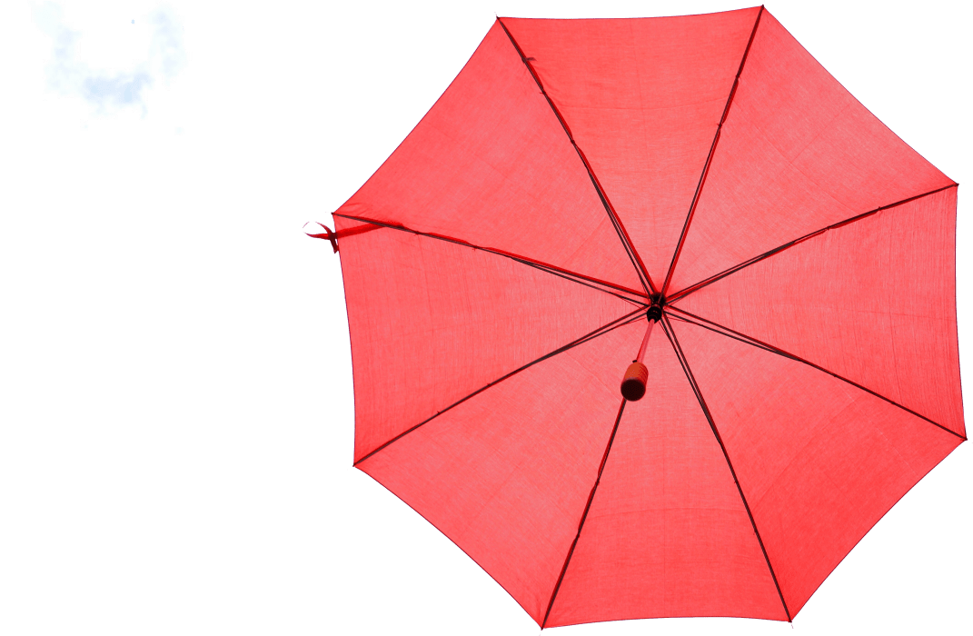 red umbrella solo