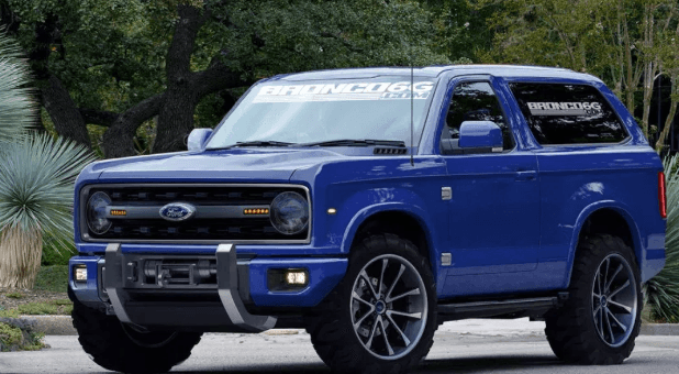 2021 Ford Bronco Concept, Interiors And Release Date
