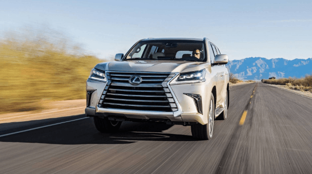 2020 Lexus LX Two Row Changes, Specs And Redesign