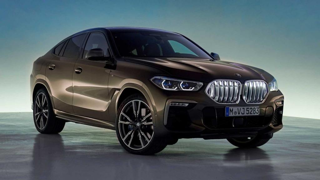 2020 BMW X6 Engine