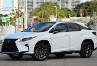 2021 Lexus RX350 Spy Photos