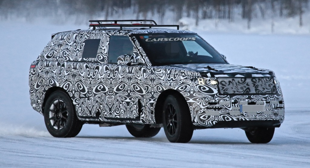 2022 Range Rover Sport Drivetrain