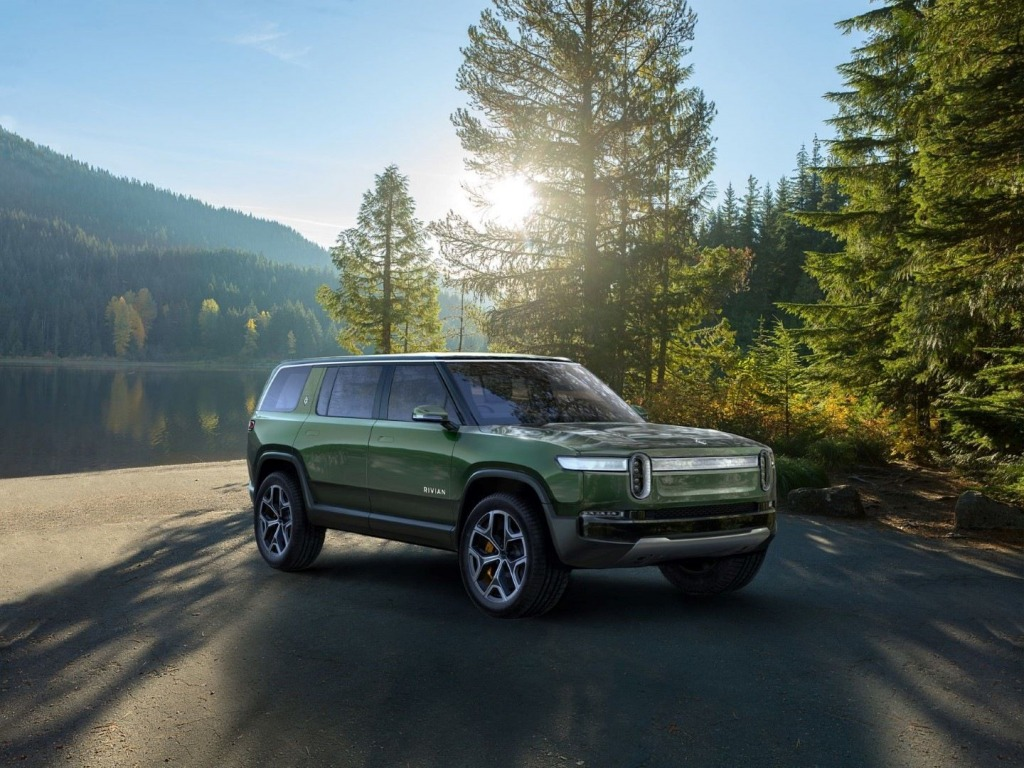 2022 Rivian R1S Electric SUV Spy Shots