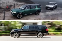 2022 Rivian R1S Electric SUV Wallpaper