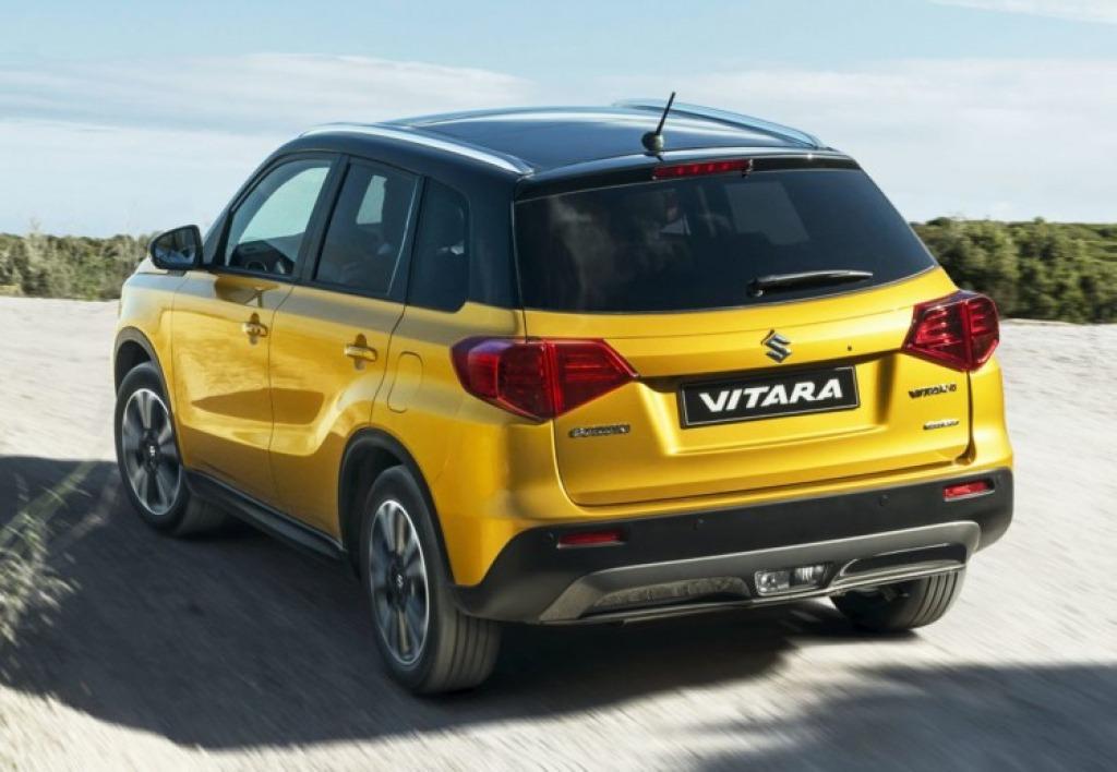 2021 Suzuki Vitara Redesign