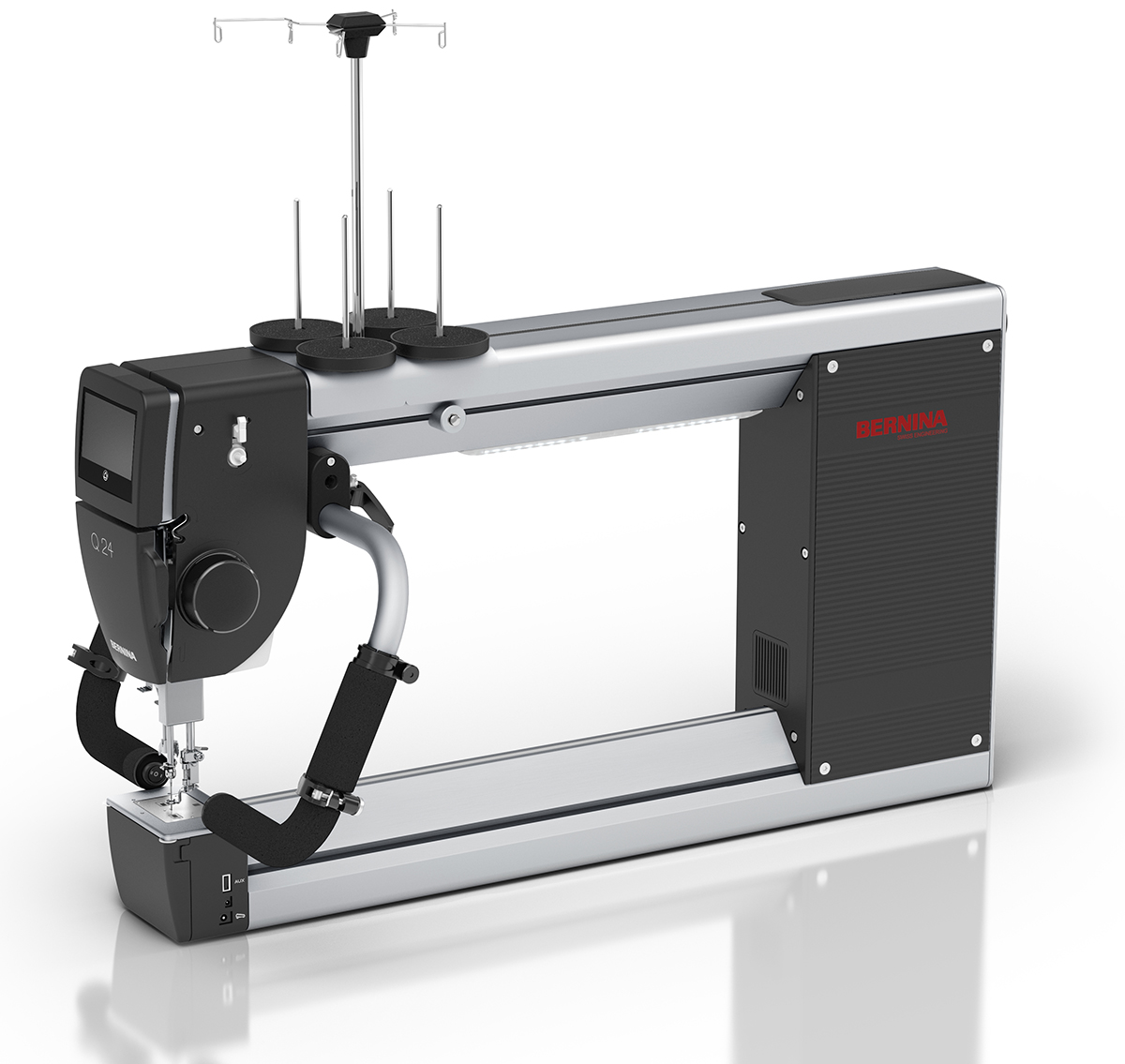 Bernina Q24 Stand-Up Longarm Quilting Machine with Frame