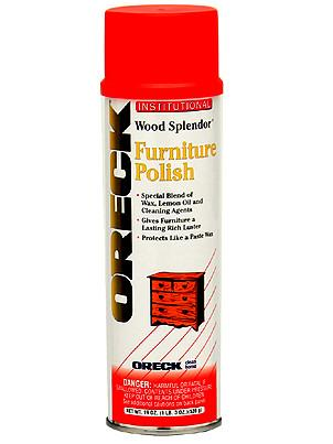 Oreck 32134 Wood Splendor Furniture Polish Topsvacuumandsewing Com