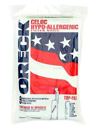 Oreck PK80009DW Commercial Upright Vacuum Bags